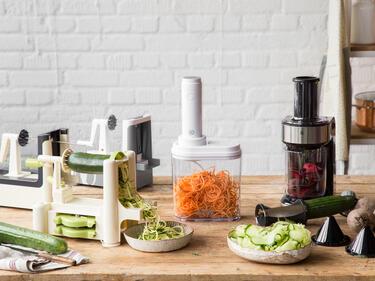 Hofer Mini Kühlschrank : Spiralschneider test: wer macht die besten gemüsenudeln?