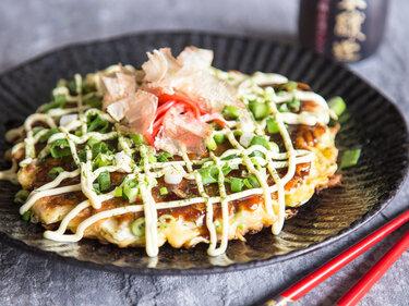 Japanische Pfannkuchen - Okonomiyaki