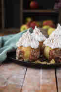 Bratapfel mit Meringue © Das Knusperstübchen