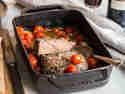 Weihnachtsessen ohne Stress - Ofen-Roast-Beef mit Schmortomaten