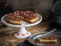 Weihnachtlicher Cheesecake mit Eierlikör