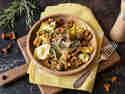 Feierabendschmaus: Steinpilzravioli mit Pfifferlingen
