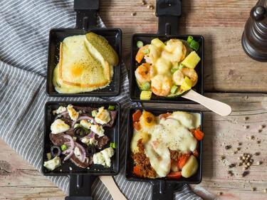 Raclette  Der große Raclette Guide - von Käse und heißen Pfännchen