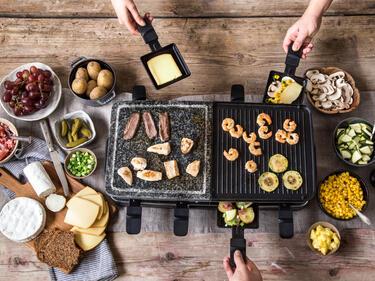 Der Große Raclette Guide Von Käse Und Heißen Pfännchen