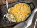 Kasslerauflauf mit Lauch und Kartoffeln
