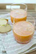 Karotten-Apfel-Smoothie © ulla trulla backt und bastelt
