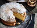 Extra fudgy – Spanischer Mandelkuchen mit Blutorange