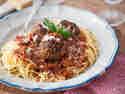 Rezeptbild Spaghetti mit Fleischbällchen