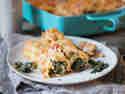 Cannelloni mit Spinat-Frischkäse-Füllung