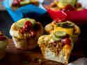 Mini Cheeseburger Muffins