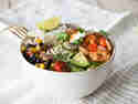 Spicy Shrimp Burrito Bowl