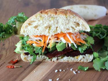 Bahn Mi - Sandwich aus Vietnam © Transglobal Pan Party