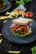Pulled Pork Sandwich © Life is full of goodies