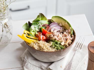 Thuna-Quinoa-Bowl