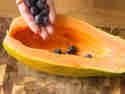 Papaya füllen