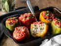 Gefüllte Paprika ungarische Art – Der Klassiker