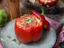 Gefüllte Paprika – Lasagne-Style