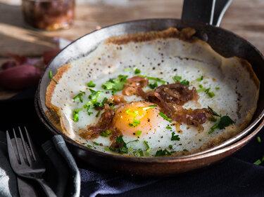 Egg Hoppers – Spiegelei trifft Pfannkuchen