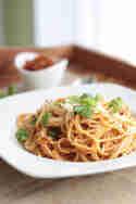 Spaghetti mit Tomatenpesto © Maras Wunderland