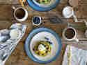 Avocado-Blaubeeren-Pancakes