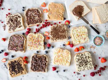 Frühstück aus Holland: Bunte Hagelslag-Brote