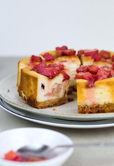 Rhabarber-Cheesecake © Backstübchen