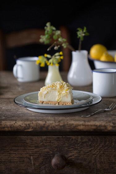 Zitronen-Mousse-Torte © Ich machs mir einfach