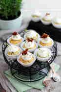 Bacon-Bärlauch-Cupcakes © KüchenDeern