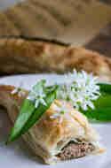 Gefüllter Bärlauch-Blätterteig-Blätter © Mari e Ola