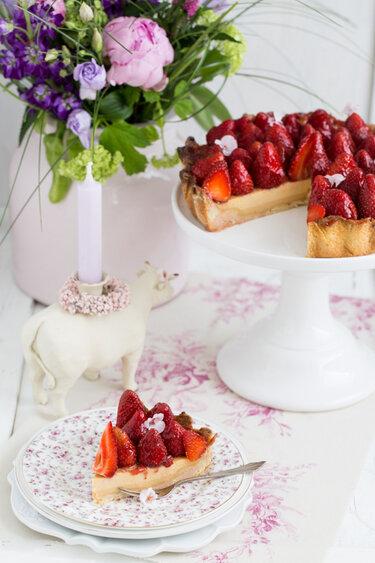 Erdbeertarte Elisabeth © Lisbeths Cupcakes & Cookies
