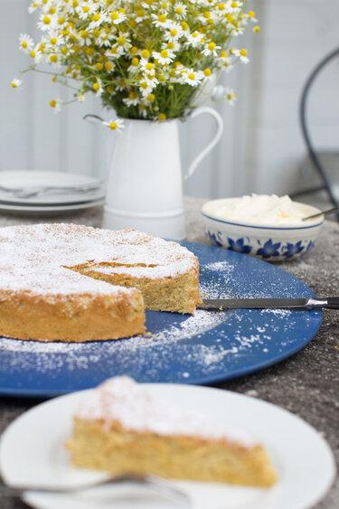 Mallorquinischer Mandelkuchen © feiertäglich