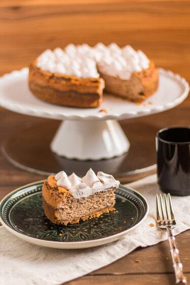 Nuss-Nougat-Cheesecake © Law of Baking