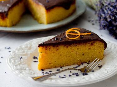 Orangenkuchen mit Lavendel © Bistro Badia