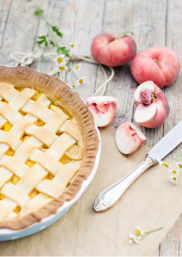 Pfirsich-Pie © Monsieurmuffin