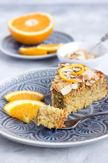 Spanischer Orangen-Mandel-Kuchen © Maras Wunderland