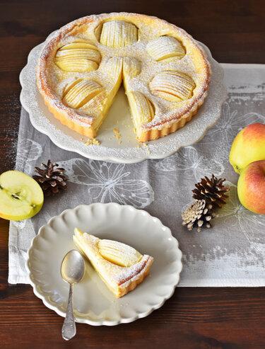 Tarte aux pommes © Kleines Kulinarium