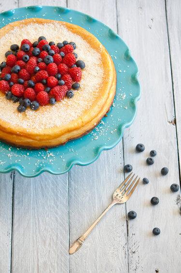 White Chocolate Cheesecake © Feed me up before you go-go
