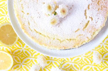 Luftige Zitronentarte © Tulpentag