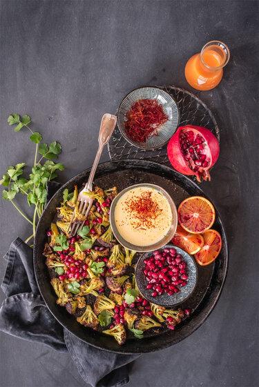 Gerösteter Blumenkohl © trickytine