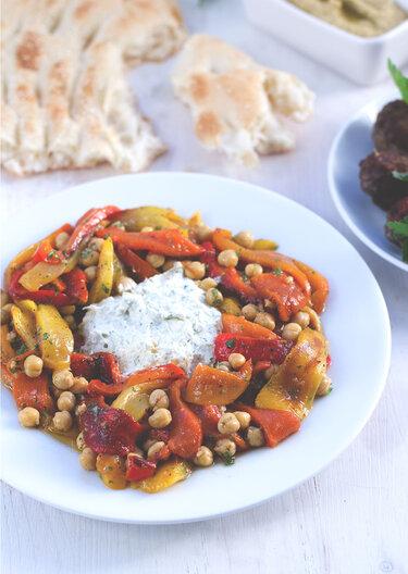 Paprika-Kichererbsen-Salat © Moey's kitchen