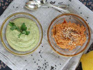 Zweierlei Hummus © ulla trulla backt und bastelt