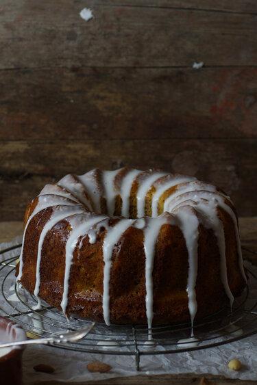 Glutenfreier Karotten-Apfel-Mandel-Kuchen © Zimtkeks und Apfeltarte