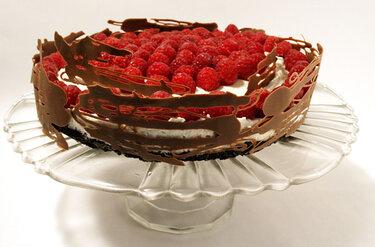 Himbeer-Quark-Torte © Zauberhaftes Küchenvergnügen