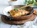 Lachs mit Ahornsirup-Senf-Marinade