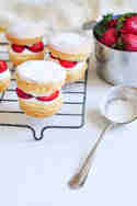 Strawberry Shortcakes © eat, little bird