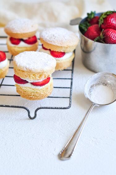 Strawberry Shortcakes © eat, little bird