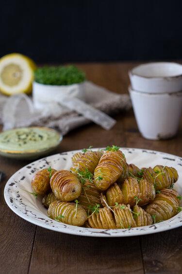 Hasselback Potatoes © Gaumenpoesie