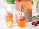 Erdbeer-Basilikum-Limonade