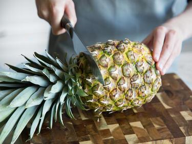 ananas verbrennt fett
