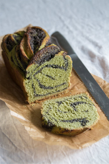 Matcha-Mohn-Zopf © Feed me up before you go-go